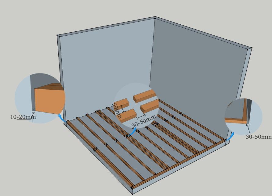 installing composite decking joist