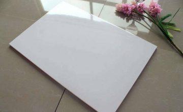 Gloss White 300×600 Rectified Ceramic Bathroom Wall Tile