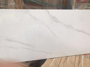 Marble look Rectified Ceramic Bathroom Wall Tile